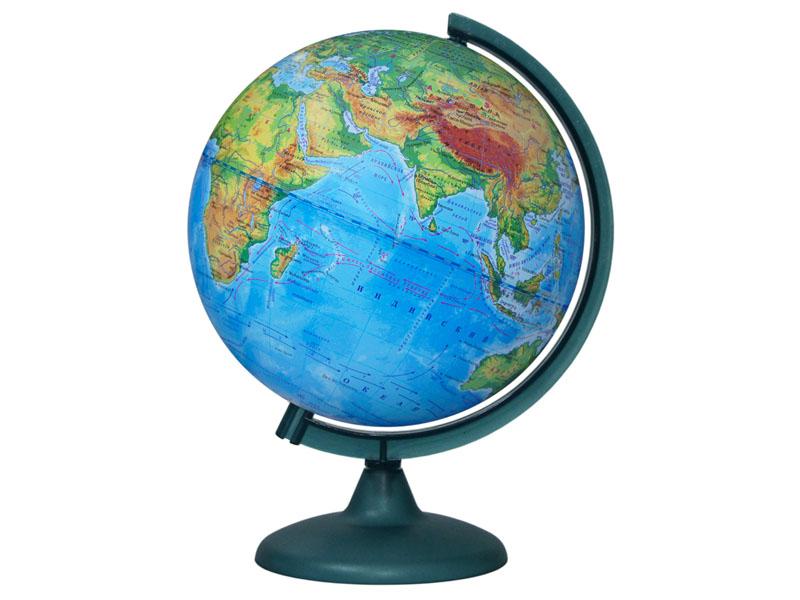 Глобус Глобусный Мир Физический 250mm 10160