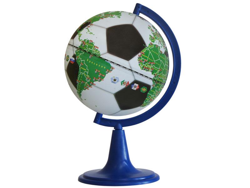 Глобус Глобусный Мир Футбольный 210mm 10138
