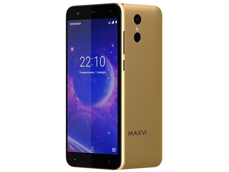 Сотовый телефон Maxvi MS531 Vega LTE Gold сотовый телефон maxvi j1 green kids