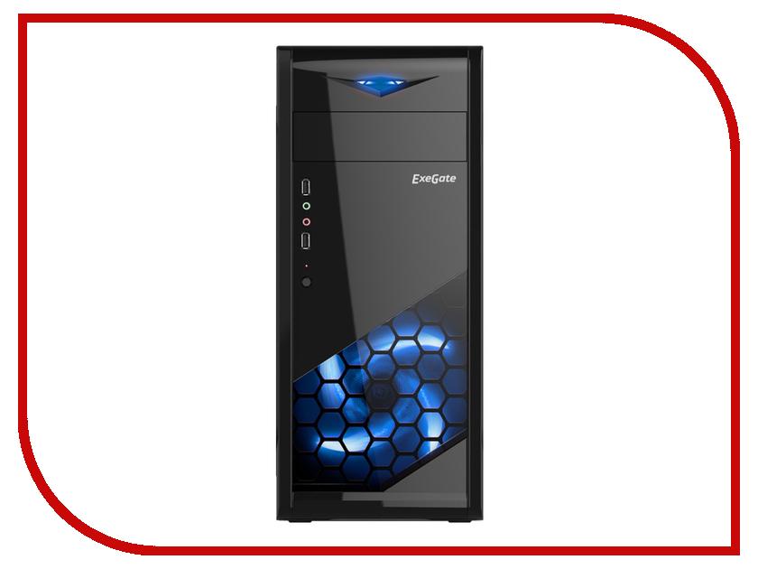 Корпус ExeGate EVO-8205 w/o PSU Black 277189 корпус miditower atx w o psu mcb e500lka5ns01 cooler master