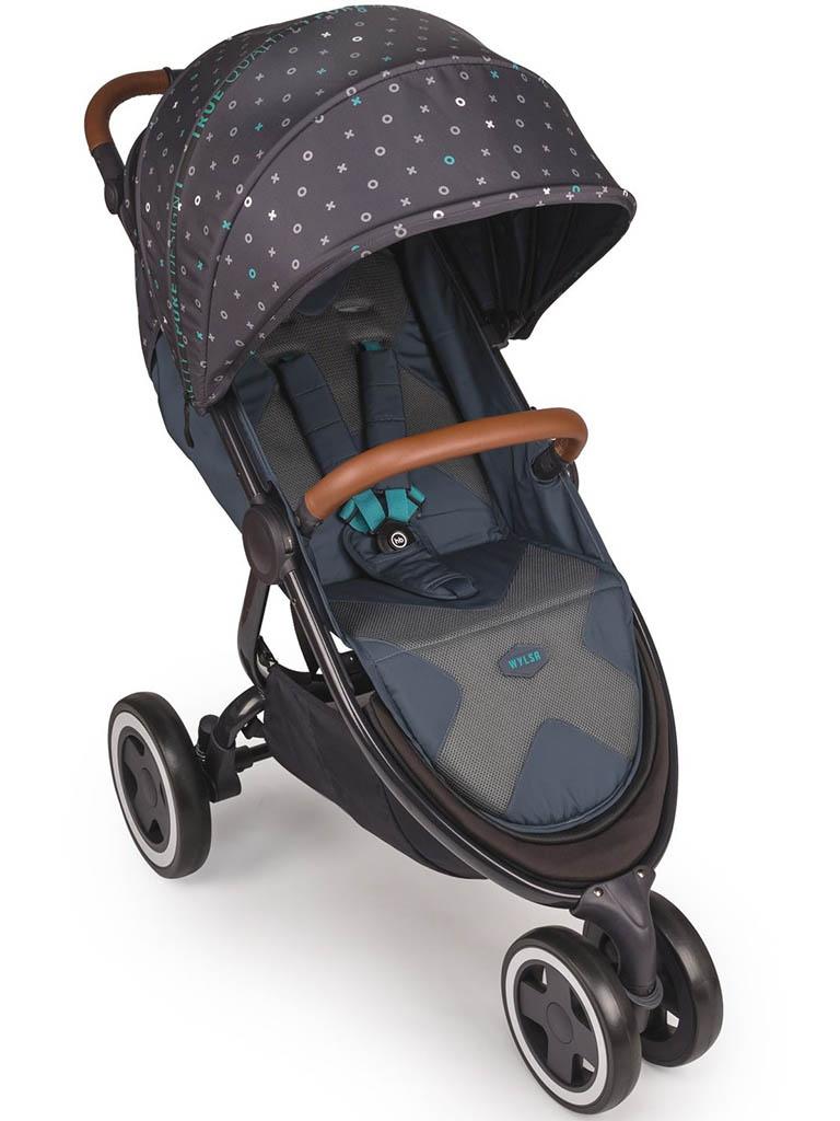 Коляска Happy Baby Wylsa Marine happy baby коляска прогулочная happy baby umma marine