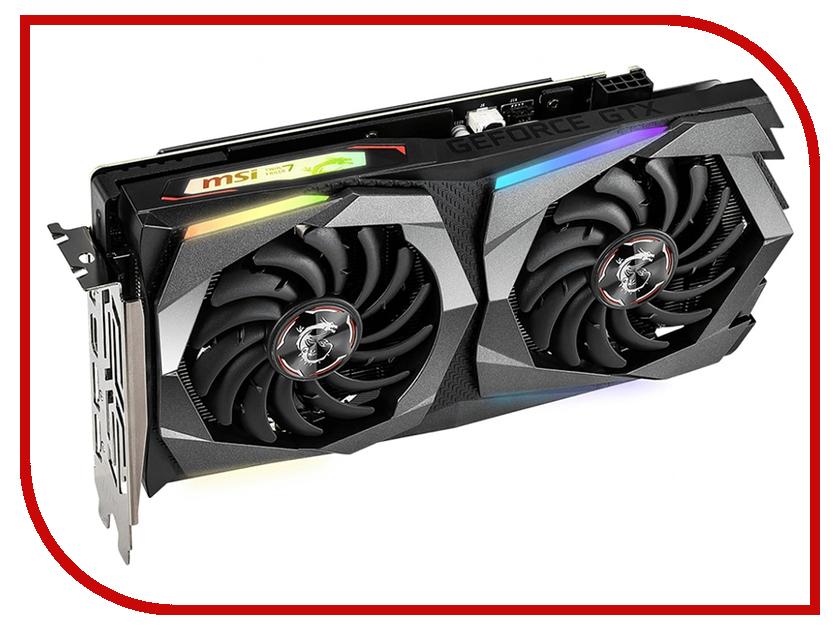 Видеокарта MSI GeForce GTX 1660 Ti 1500Mhz PCI-E 3.0 6144Mb 12000Mhz 192 bit 3xDP HDMI GTX 1660 Ti Gaming X 6G видеокарта msi geforce gtx 1060 gaming x 6g
