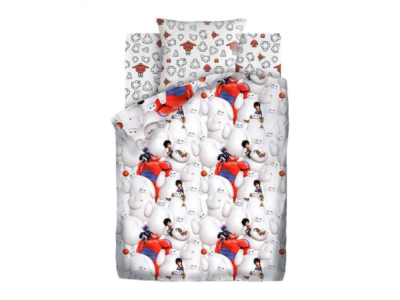 Постельное белье ПромТоргСервис Город героев Беймакс и Хиро Комплект 1.5 спальный 557004