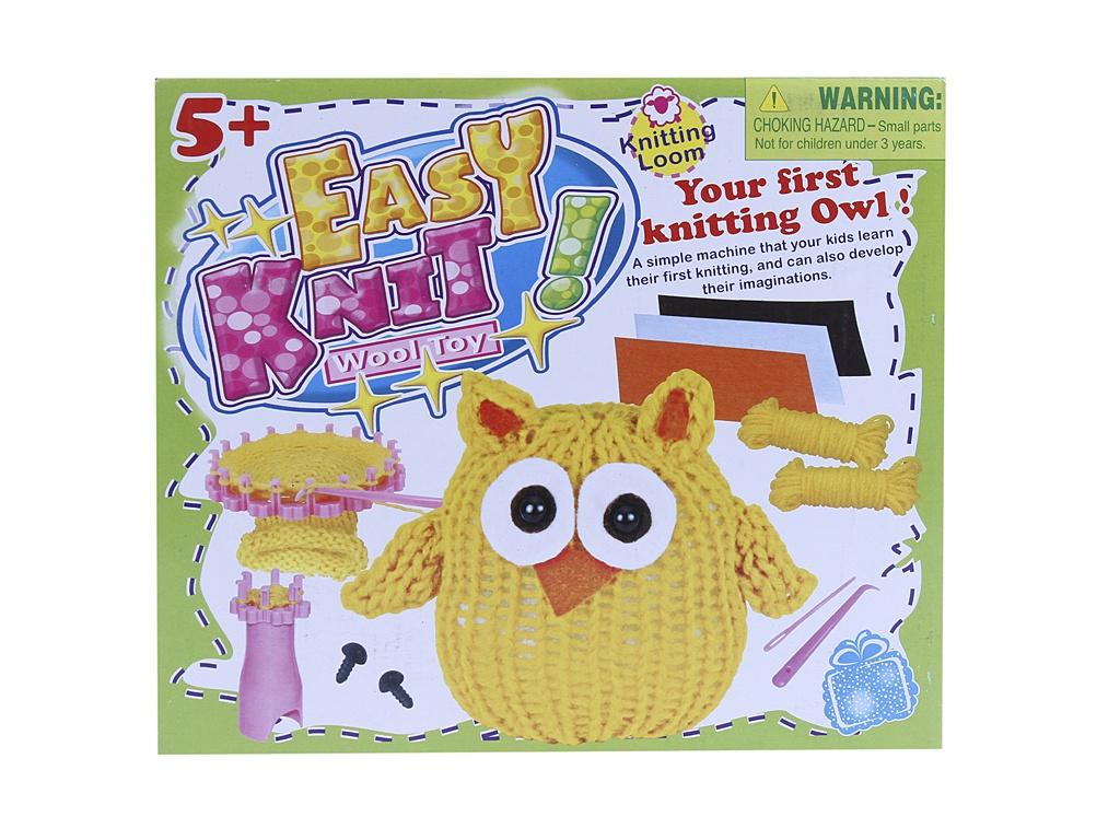 Набор для творчества Asis Вяжем игрушку Совенок 233