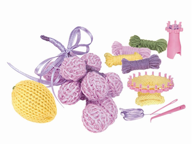 Набор для творчества Asis Вяжем игрушку Виноград и Лимон 223