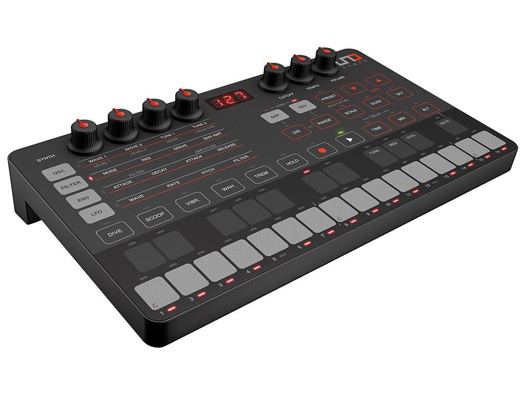 MIDI-клавиатура IK Multimedia UNO Synth IP-UNO-SYNTH-IN uno mas uno