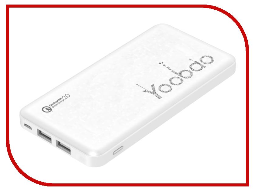 Аккумулятор Yoobao Power Bank PL12QC 12000mAh White 12000mah power bank usb блок батарей 2 0 порты usb литий полимерный аккумулятор внешний аккумулятор для смартфонов white