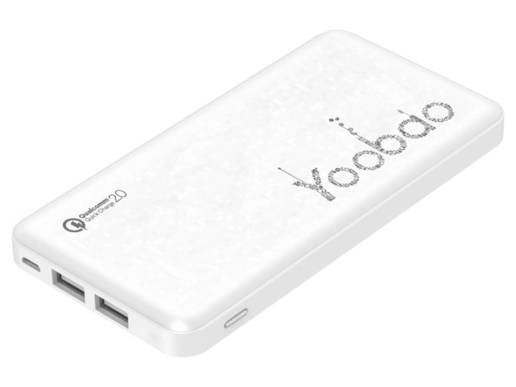 Аккумулятор Yoobao Power Bank PL12QC 12000mAh White, PL12QC