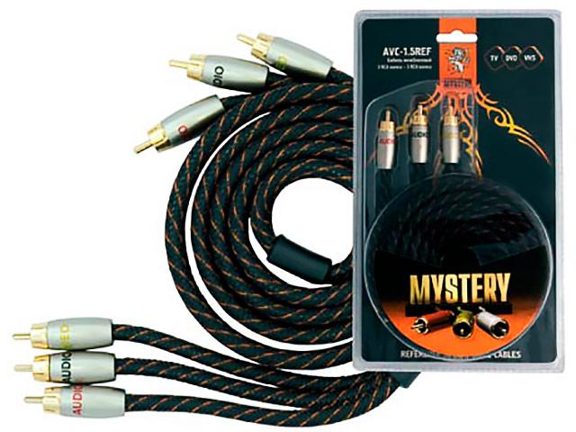 Аксессуар Mystery 3RCA - 3RCA 1.5m AVC-1.5REF