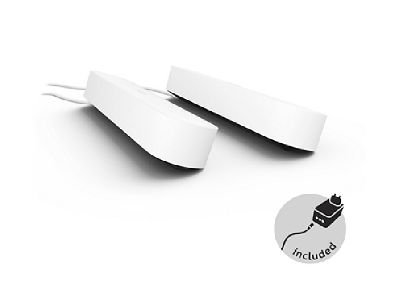 Светильник Philips Hue Play 2шт White 915005734601 лампочка philips hue white and color ambiance starter e27 2 шт блок управления