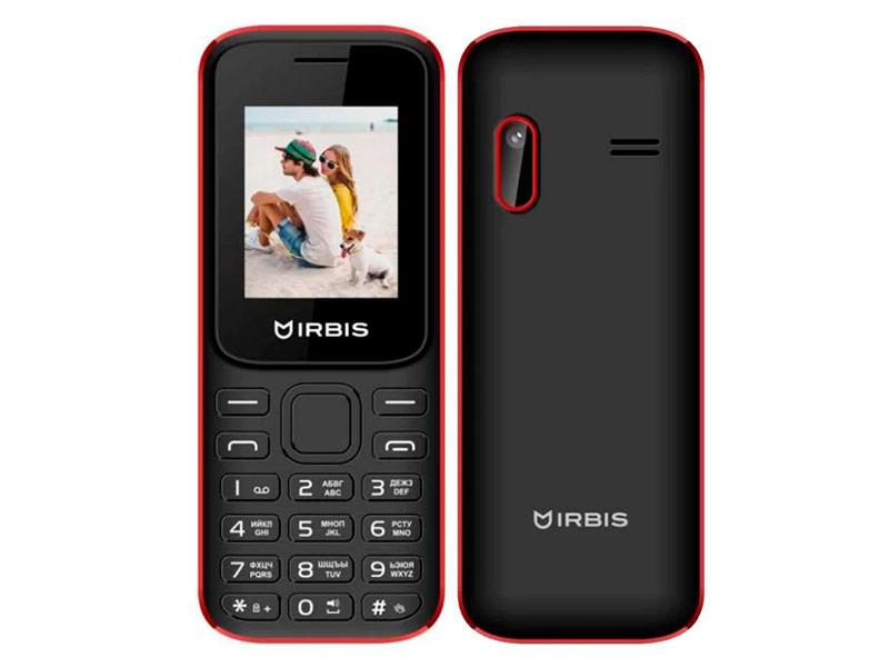 Сотовый телефон Irbis SF31 Black-Red