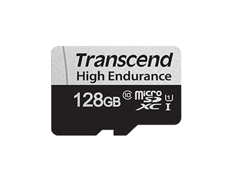 Карта памяти 128Gb - Transcend High Endurance MicroSDXC 350V TS128GUSD350V