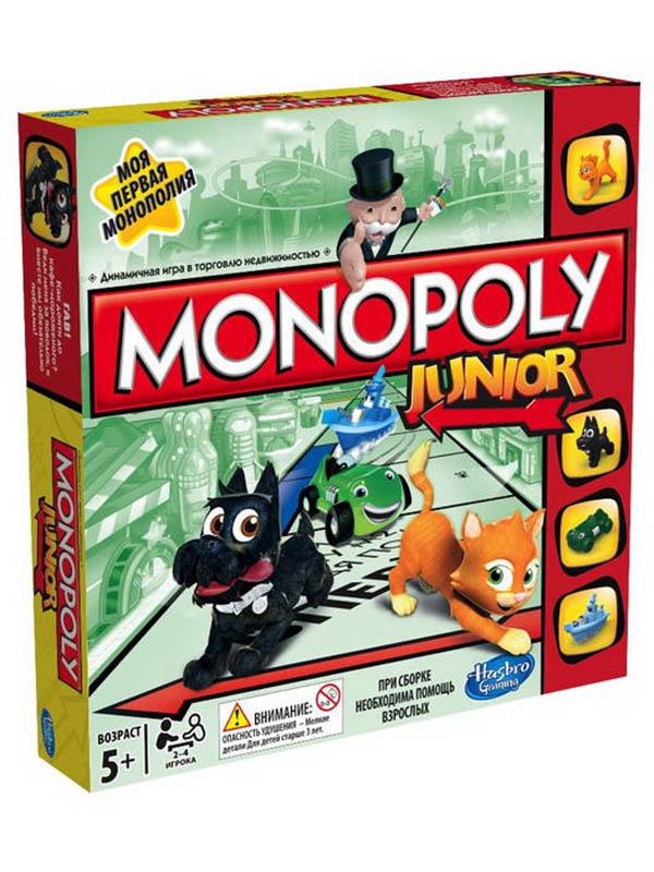 Игрушка Hasbro Монополия Джуниор A6984RA0