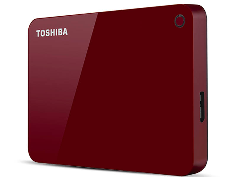 Жесткий диск Toshiba Canvio Advance 4Tb Red HDTC940ER3CA