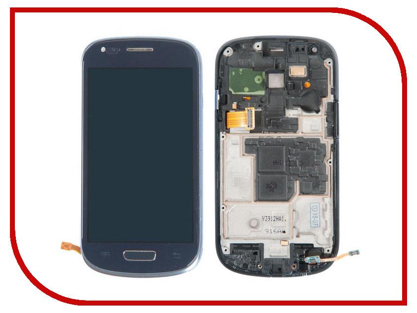 цена Дисплей RocknParts для Samsung Galaxy S3 Mini GT-I8190 Pebble Blue 324052