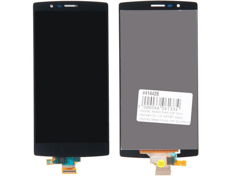 Дисплей RocknParts для LG G4 H818P Black 414426