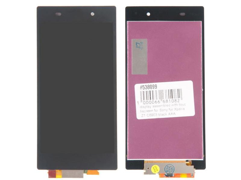 Дисплей RocknParts для Sony Xperia Z1 C6903 Black 538099