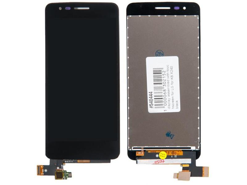 Дисплей RocknParts для LG K8 X240 Black 540444 защитное стекло onext lg k8 2017 x240