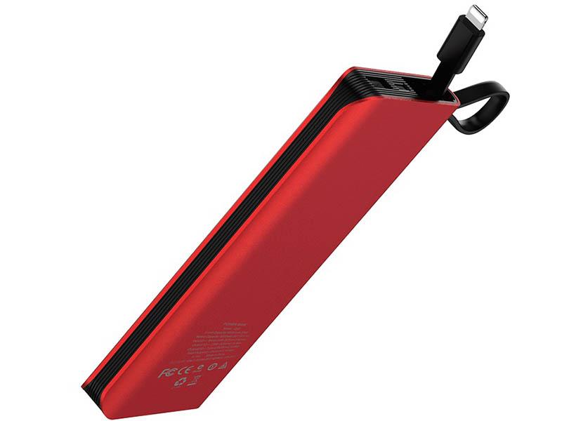 Внешний аккумулятор Hoco Power Bank J25 New 10000mAh Red 98896