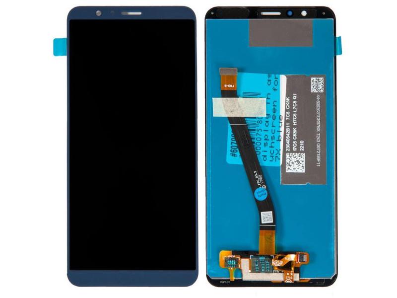 Дисплей RocknParts для Huawei Honor 7X Blue 607982