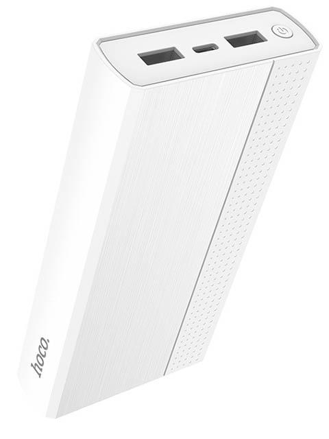 Аккумулятор Hoco J33A Cool freedom 20000 mAh White 98898 аккумулятор hoco b31a rege 30000mah white