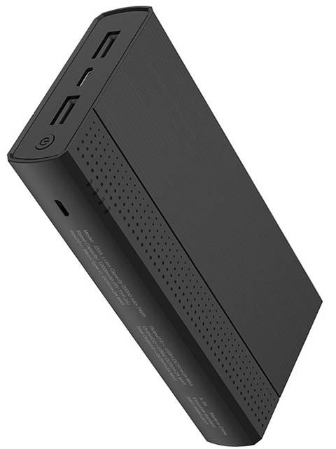 Внешний аккумулятор Hoco J33A Cool freedom 20000 mAh Black 98897