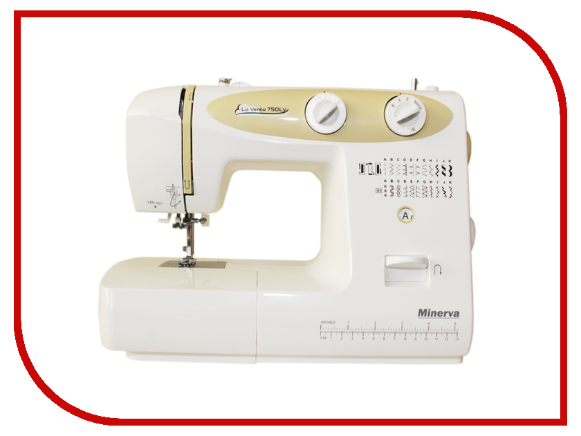 Швейная машинка Minerva La Vento M-750LV цена 2017