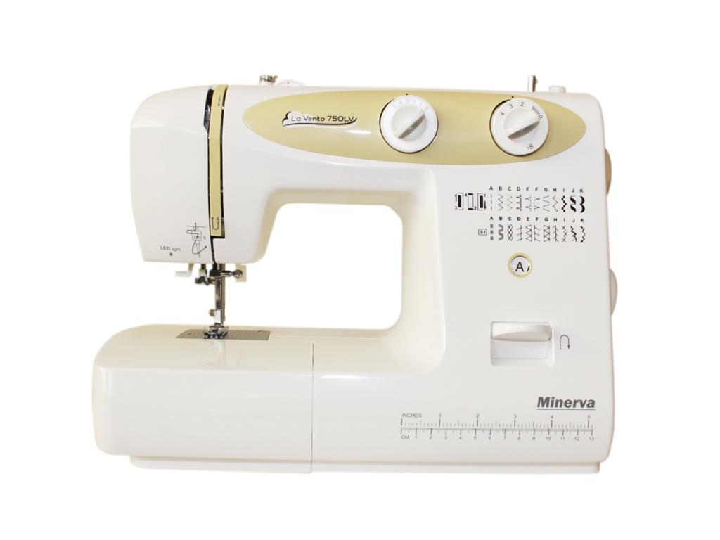 Швейная машинка Minerva La Vento M-750LV швейная машина minerva la vento 710lv белый розовый