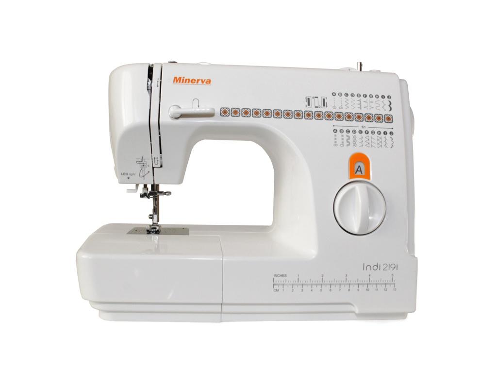 Швейная машинка Minerva INDI 219I швейная машина minerva f 832 b