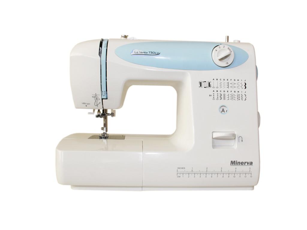 Швейная машинка Minerva La Vento M-730LV швейная машина minerva la vento 710lv белый розовый