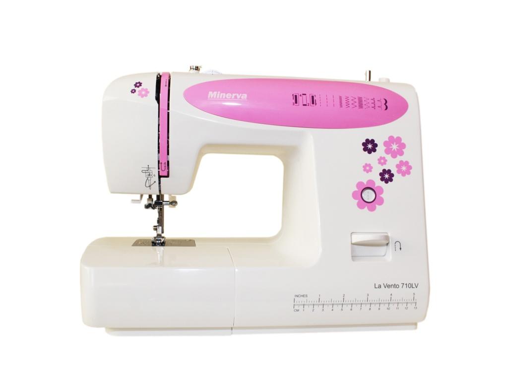 Швейная машинка Minerva La Vento M-710LV швейная машина minerva la vento 710lv белый розовый