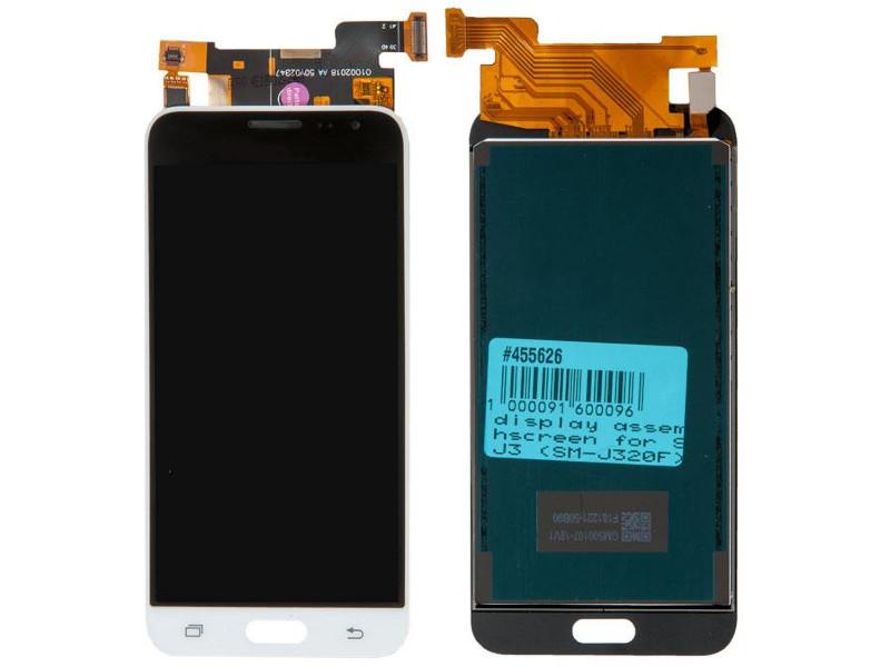 Дисплей RocknParts для Samsung Galaxy J3 SM-J320F 2016 White 455626