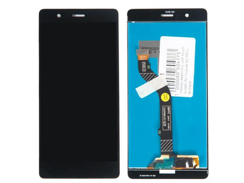 Дисплей RocknParts для Huawei P9 Lite Black 475474