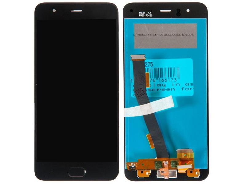 Дисплей RocknParts для Xiaomi Mi6 Black 571275