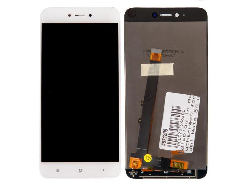 Дисплей RocknParts для Xiaomi Redmi Note 5A White 571289 дисплей rocknparts zip для xiaomi redmi note 4x white