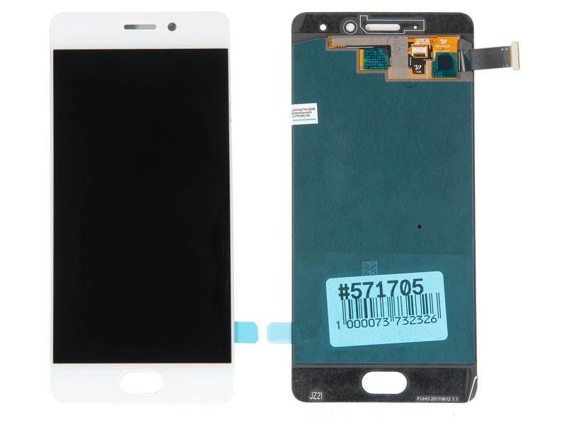 Дисплей RocknParts для Meizu Pro 7 White 571705