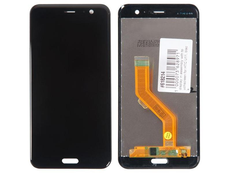 Дисплей RocknParts для HTC U11 Black 618214