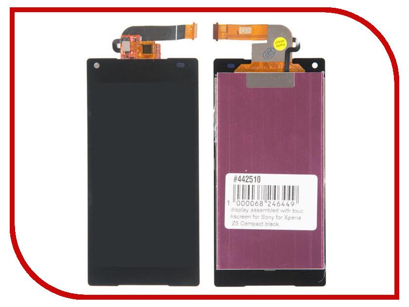 Дисплей RocknParts для Sony Xperia Z5 Compact E5803 Black 442510 sony xperia z5 compact yellow