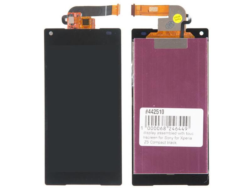 Дисплей RocknParts для Sony Xperia Z5 Compact E5803 Black 442510