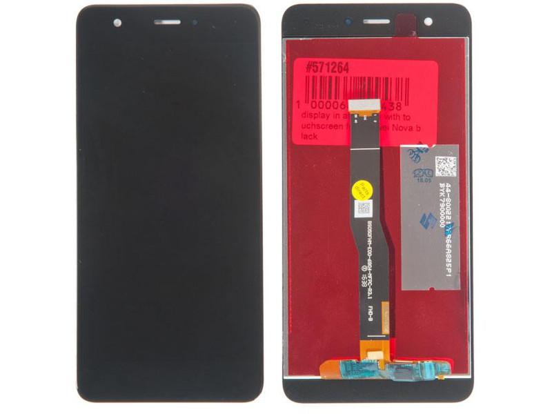 Дисплей RocknParts для Huawei Nova Black 571264