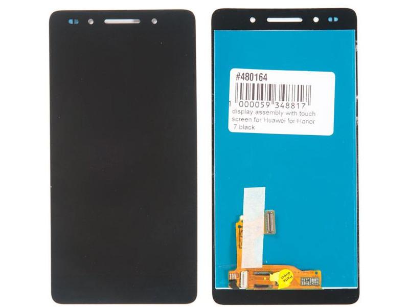 Дисплей RocknParts для Huawei Honor 7 Black 480164
