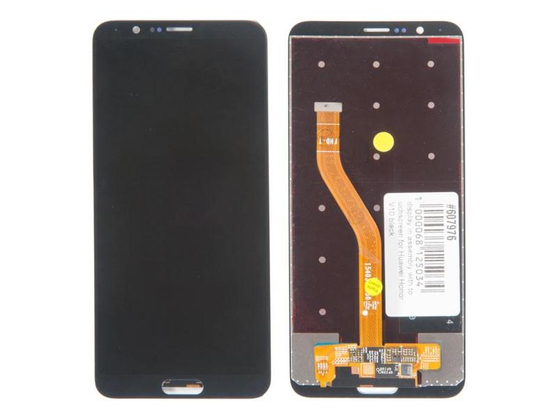 Дисплей RocknParts для Huawei Honor V10 Black 607976
