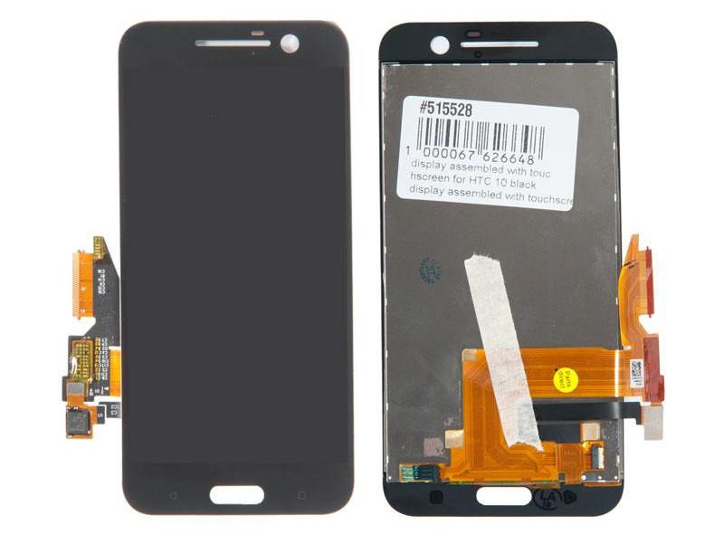 Дисплей RocknParts для HTC 10 Black 515528