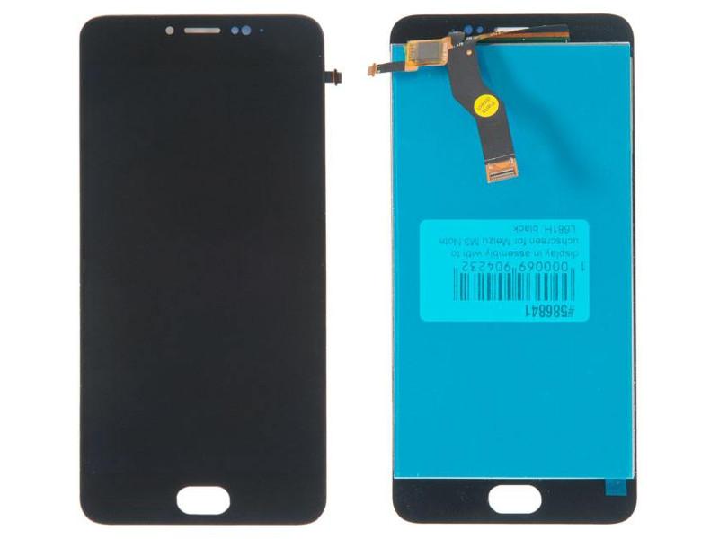 Дисплей RocknParts для Meizu M3 Note L681H Black 586841