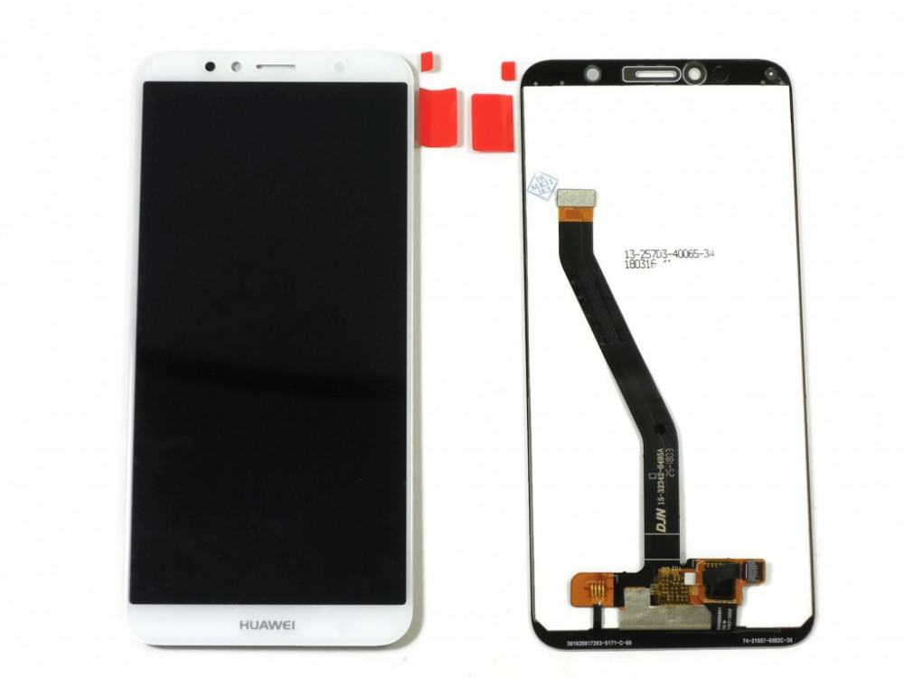 Дисплей RocknParts для Huawei Honor 7A Pro/Y6 2018/Honor 7C White 619013 цена