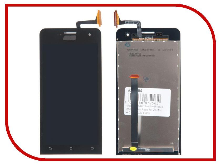 Дисплей RocknParts для Asus Zenfone 5 A501CG Black 371564 защитная плёнка для asus zenfone 5 a500cg a501cg a500kl антибликовая nillkin