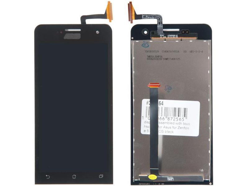 Дисплей RocknParts для Asus Zenfone 5 A501CG Black 371564