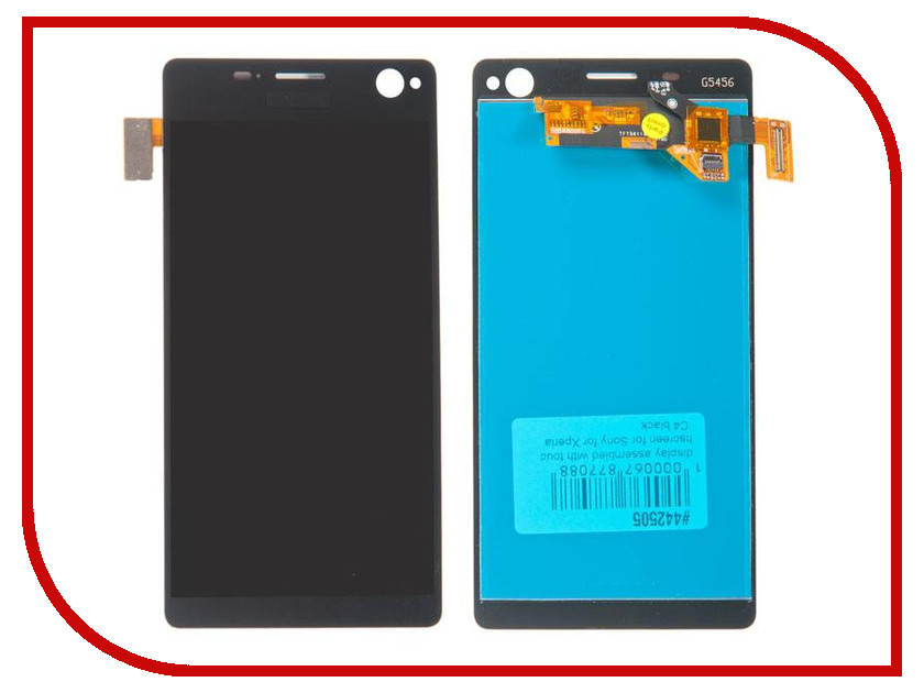 Дисплей RocknParts для Sony Xperia C4 E5303 Black 442505 mark twain adventures of huckleberry finn qualitas classics