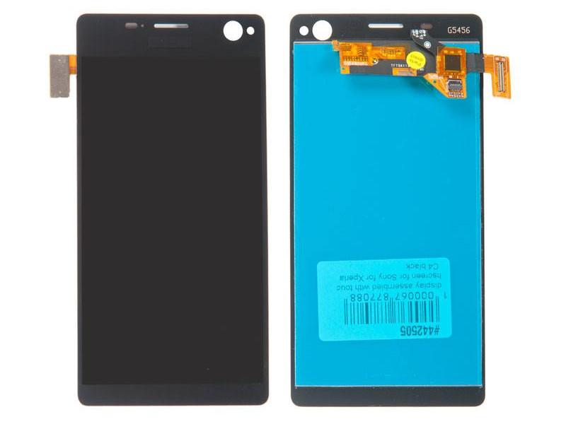 Дисплей RocknParts для Sony Xperia C4 E5303 Black 442505
