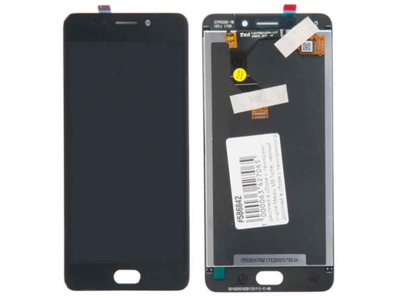 Дисплей RocknParts для Meizu M6 Note Black 586842
